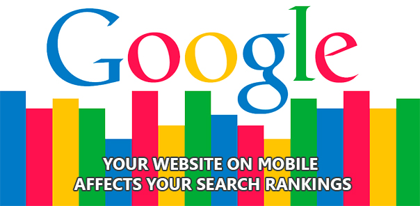 Your website on mobile affects your search rankings