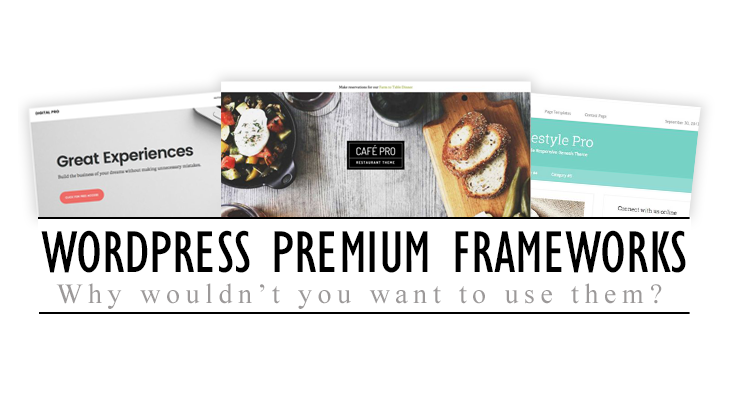 Wodpress Premium Frameworks, Why wouldn't you want to use them?