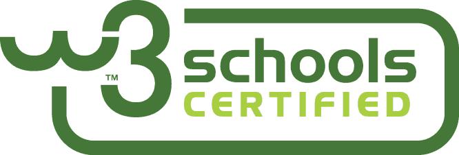 W3 Schools Certified