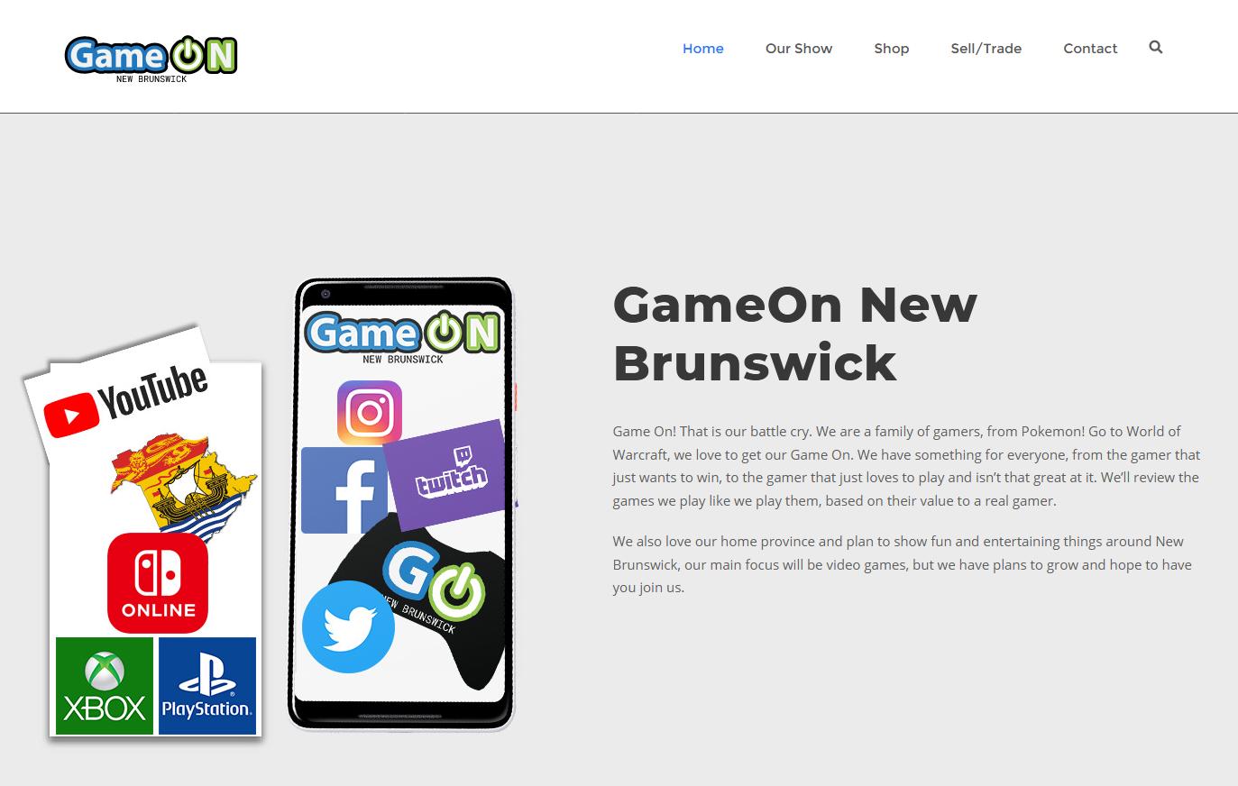 GameOn New Brunswick