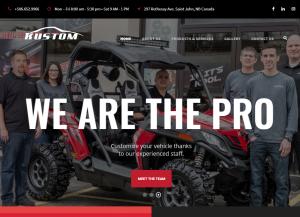 Kustom Auto Website