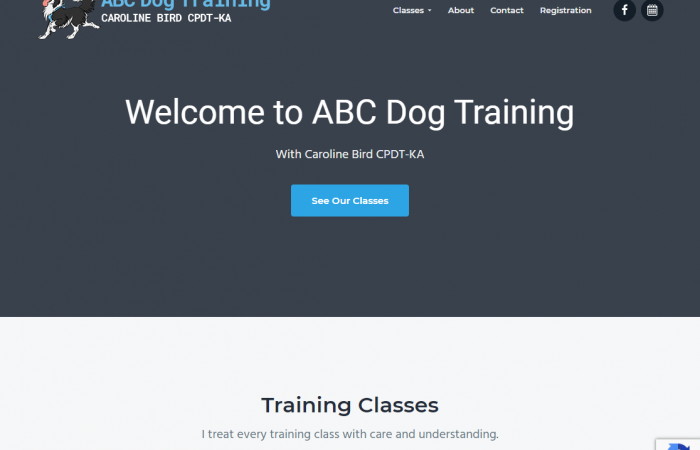 ABC Dog Training Website