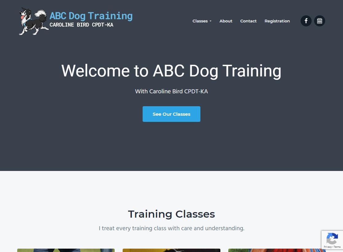 ABC Dog Training Website