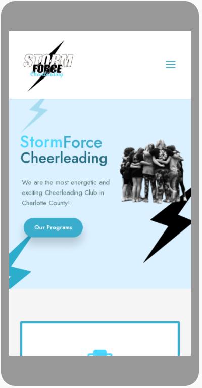 Storm Force Cheerleading Mobile